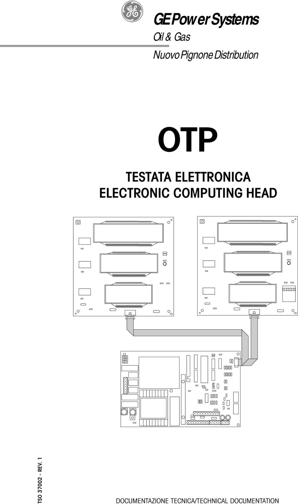 ELECTRONIC COMPUTING HEAD TSO 37002 - REV.