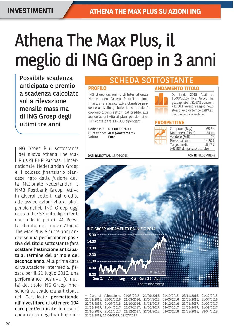 L Internationale Nederlanden Groep è il colosso finanziario olandese nato dalla fusione della Nationale-Nederlanden e NMB Postbank Group.