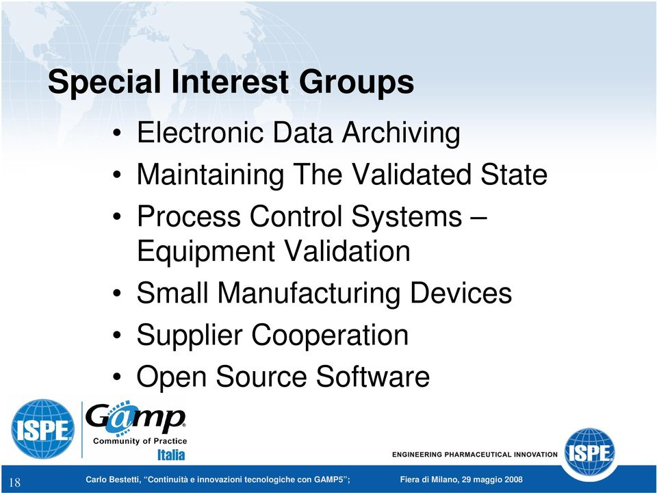 Systems Equipment Validation Small Manufacturing