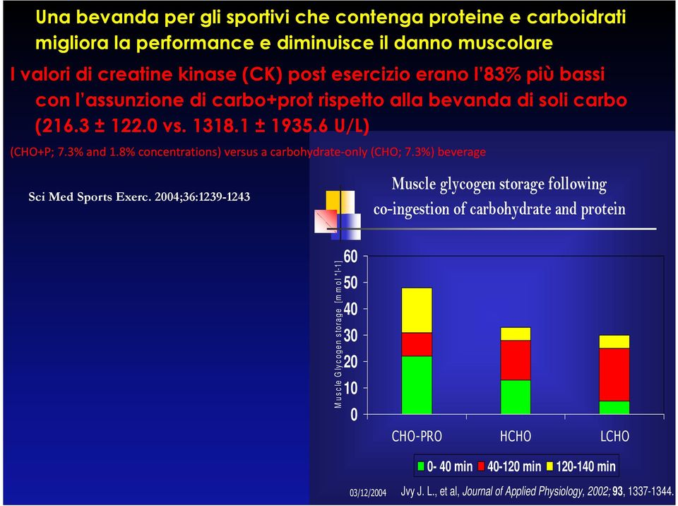 8% concentrations) versus a carbohydrate-only(cho; 7.3%) beverage Sci Med Sports Exerc.