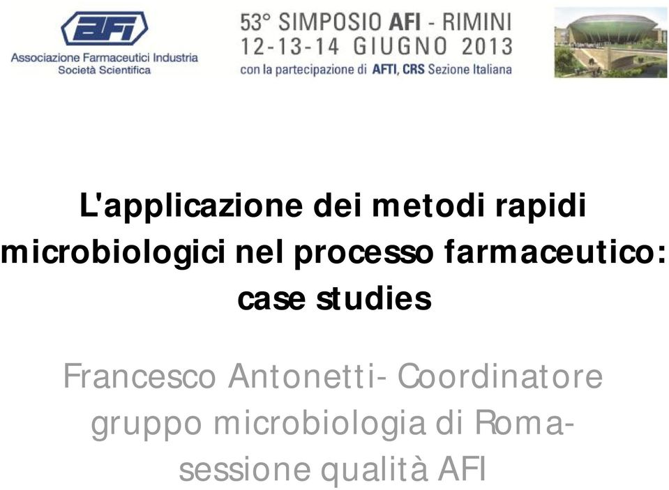 case studies Francesco Antonetti-