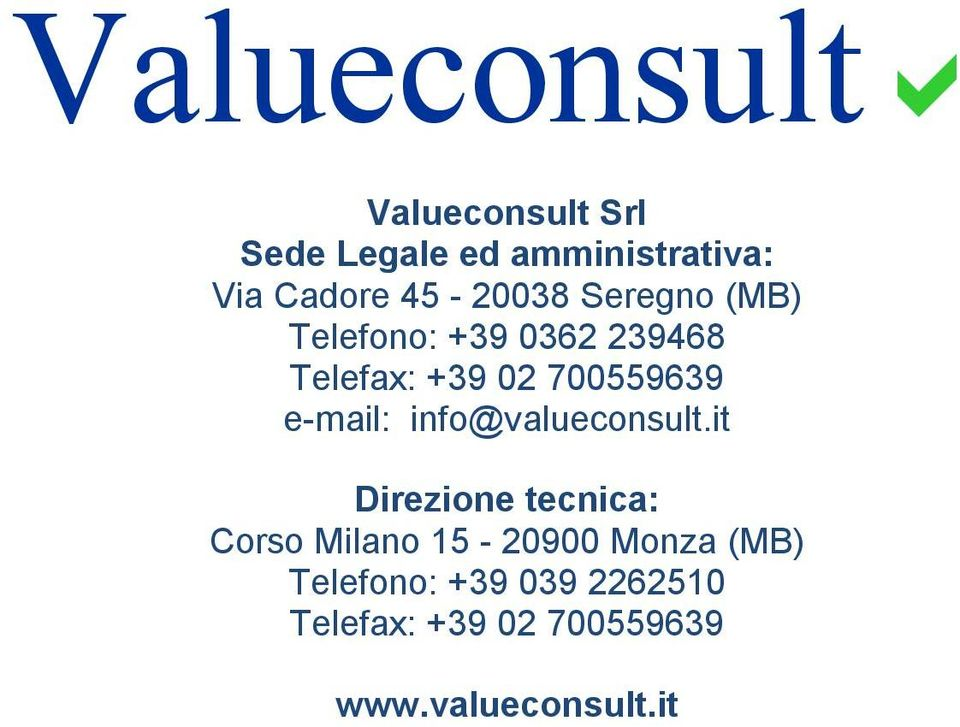 e-mail: info@valueconsult.