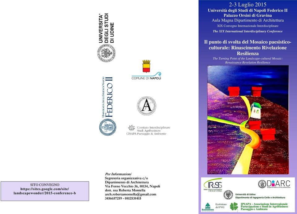 Resilience SITO CONVEGNO https://sites.google.