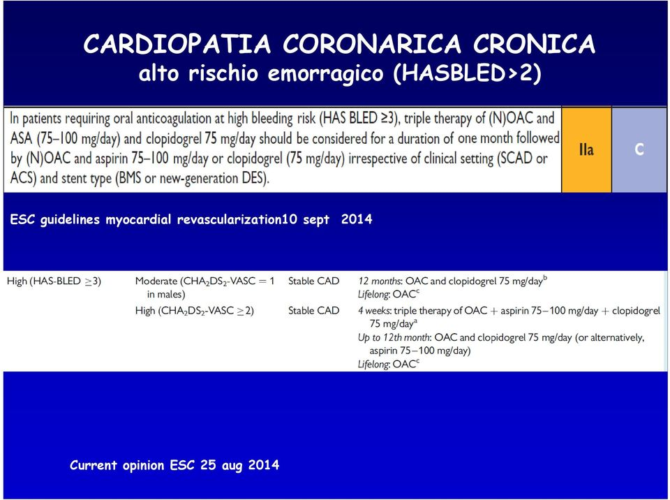 guidelines myocardial