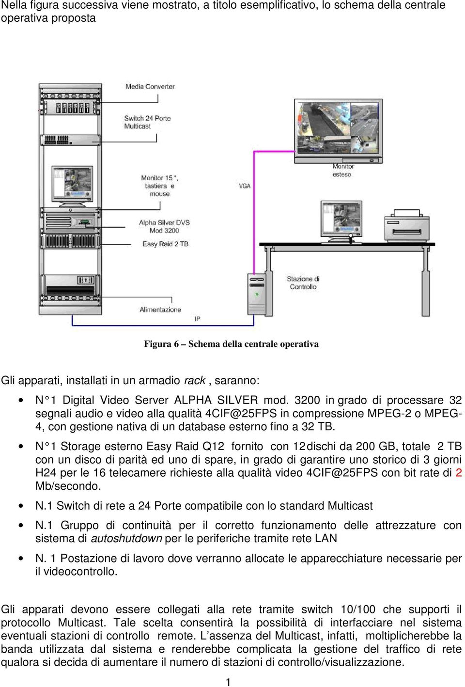 3200 in grado di processare 32 segnali audio e video alla qualità 4CIF@25FPS in compressione MPEG-2 o MPEG- 4, con gestione nativa di un database esterno fino a 32 TB.