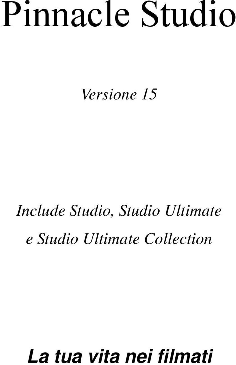 Ultimate e Studio Ultimate