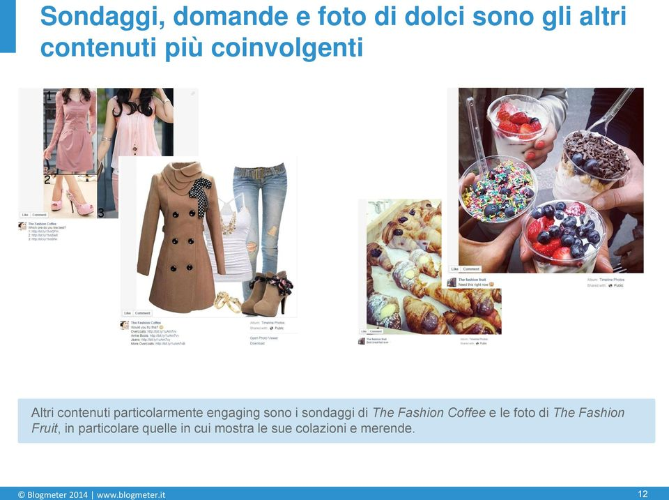 di The Fashion Coffee e le foto di The Fashion Fruit, in particolare