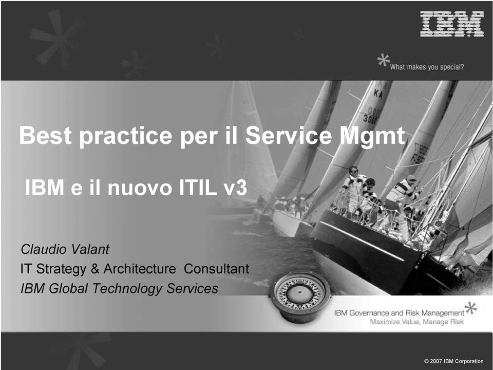 Valant IT Strategy & Architecture
