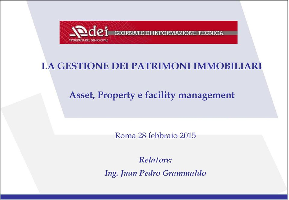 facility management Roma 28