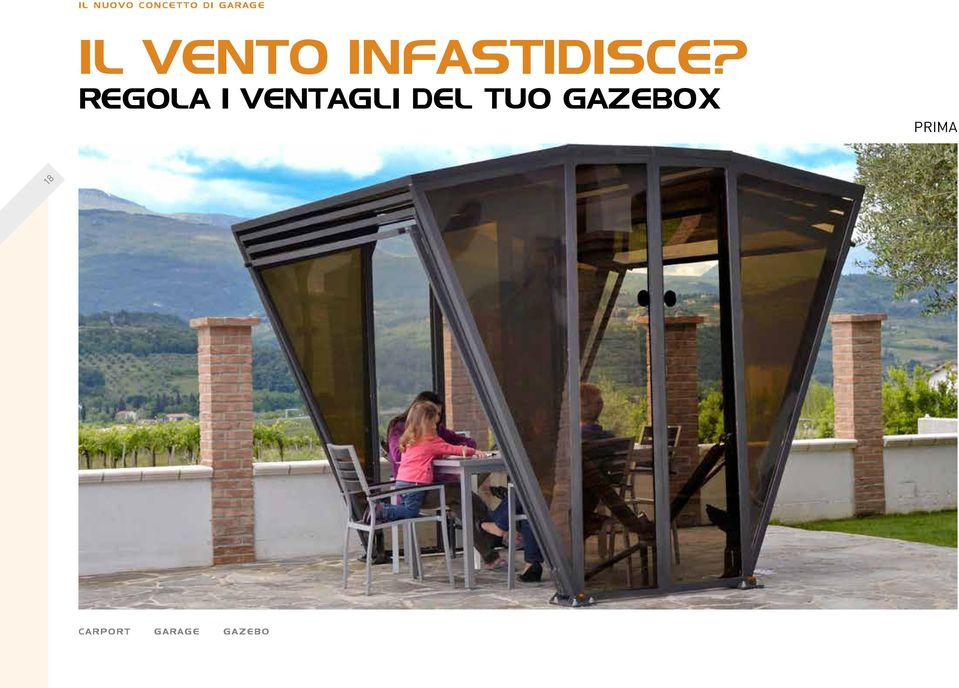 TUO GAZEBOX PRIMA 18