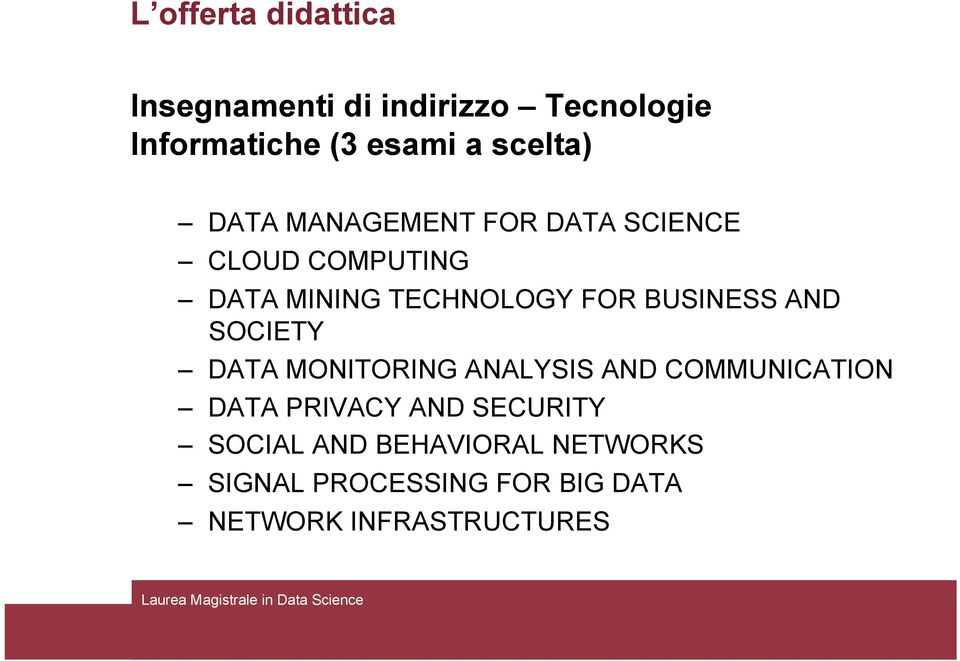 BUSINESS AND SOCIETY DATA MONITORING ANALYSIS AND COMMUNICATION DATA PRIVACY AND
