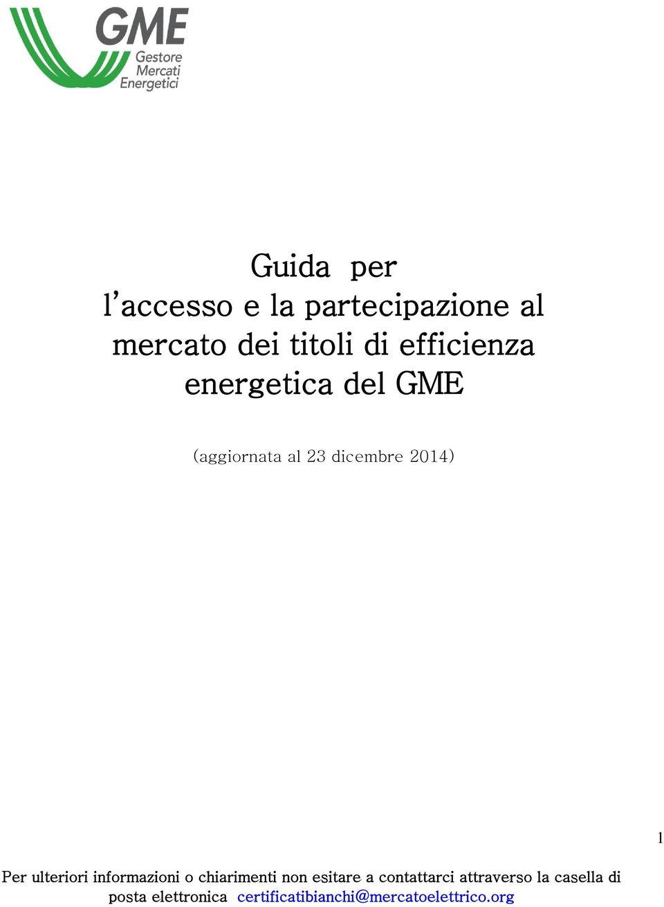 titoli di efficienza energetica