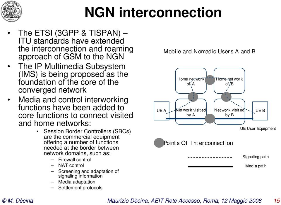 the commercial equipment offering a number of functions needed at the border between network domains, such as: Firewall control NAT control Screening and adaptation of signaling information Media