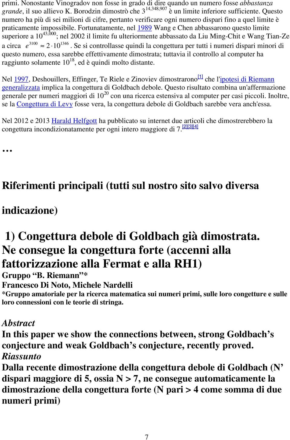 pdf strong induction and the goldbach conjecture