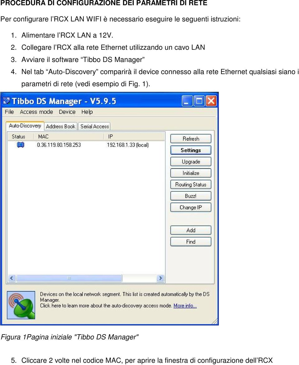 Avviare il software Tibbo DS Manager 4.