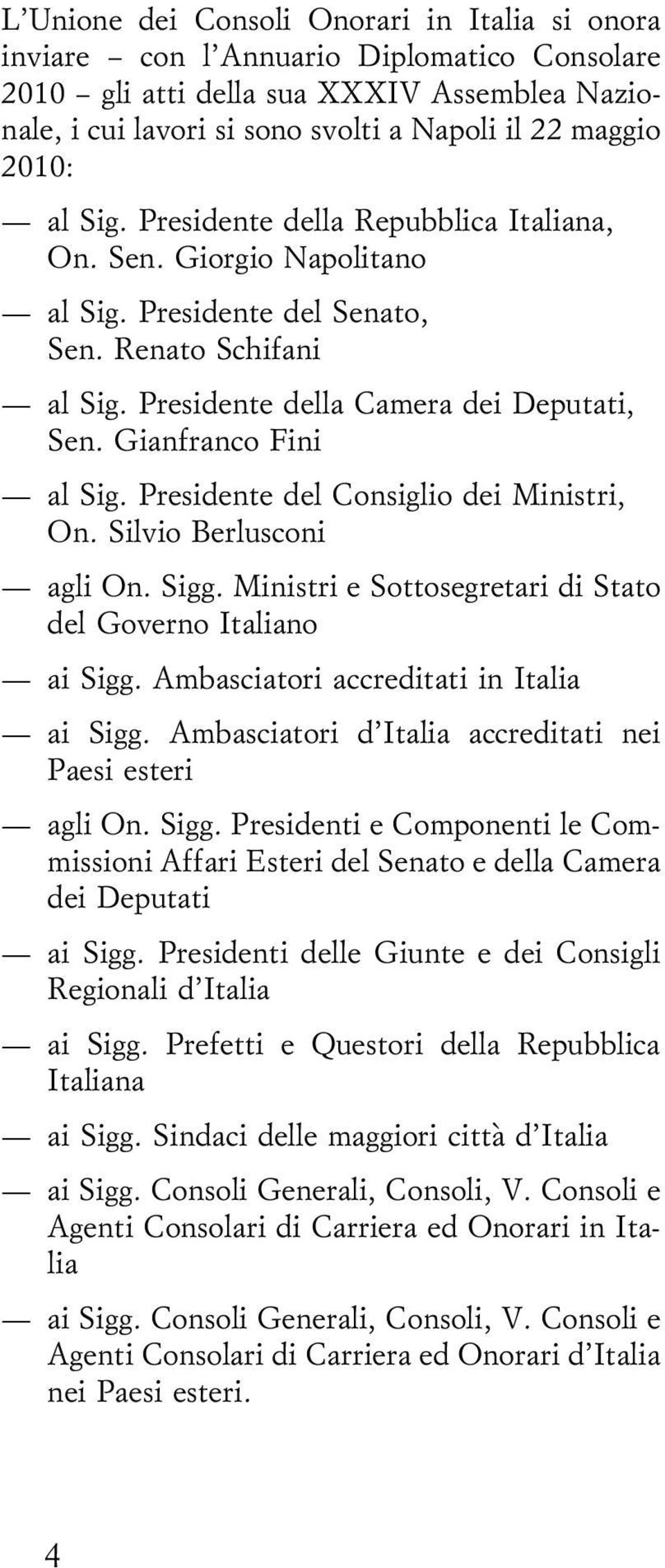 Diplomatico consolare pdf for Camera dei deputati commissioni