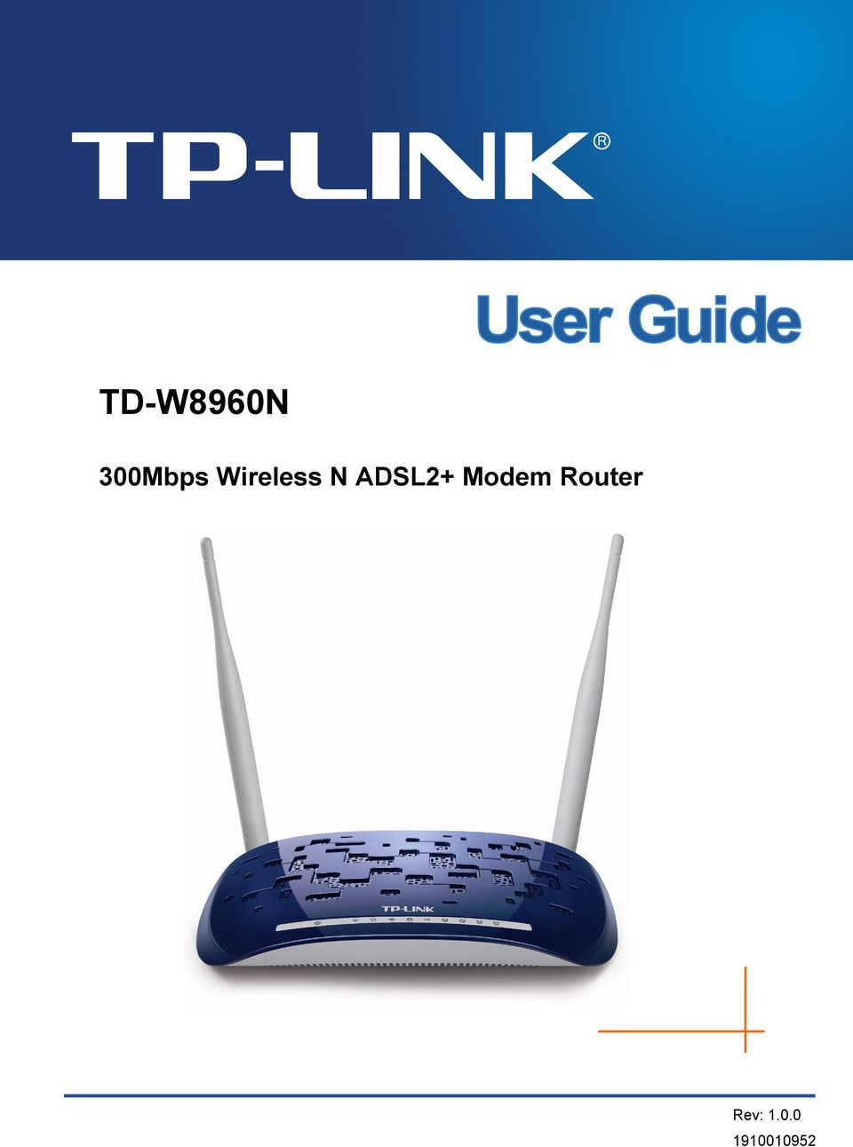Modem Router Rev: