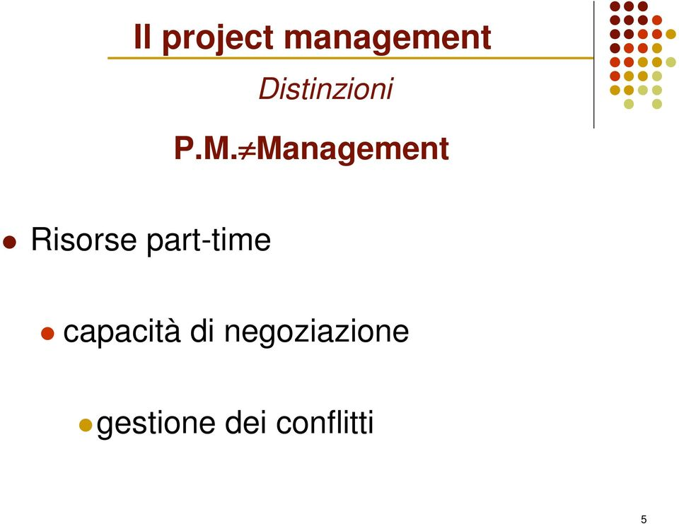 Management Risorse part-time