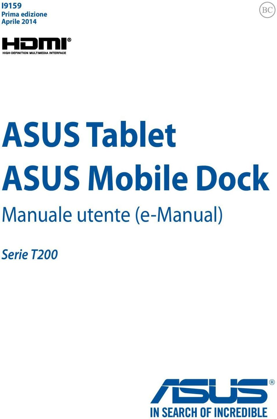 ASUS Mobile Dock Manuale