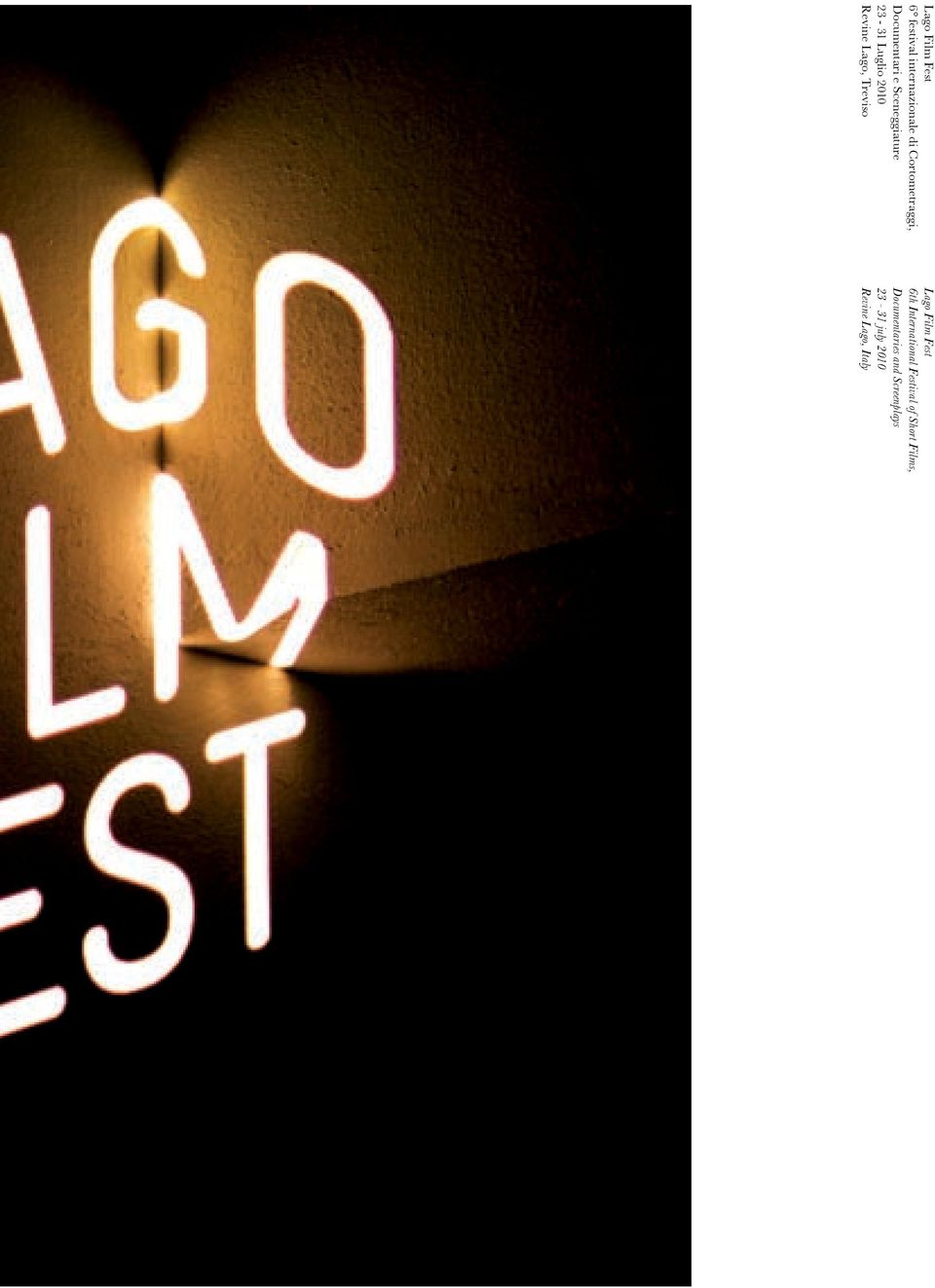 Treviso Lago Film Fest 6th International Festival of Short