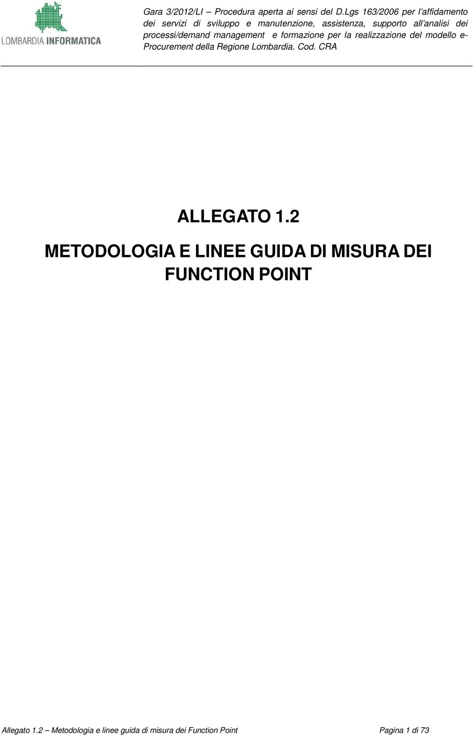 DEI FUNCTION POINT Allegato 1.