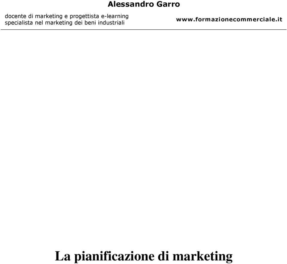 marketing dei beni industriali www.