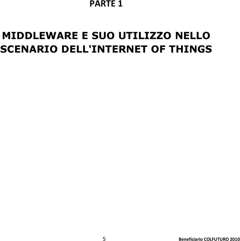 DELL'INTERNET OF THINGS 5