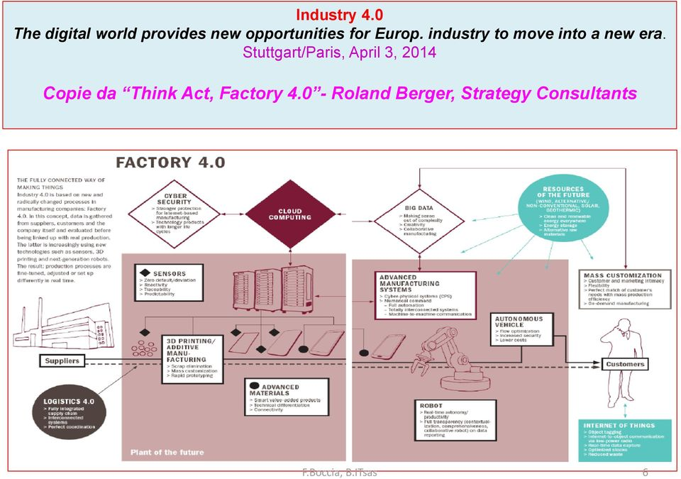 Europ. industry to move into a new era.