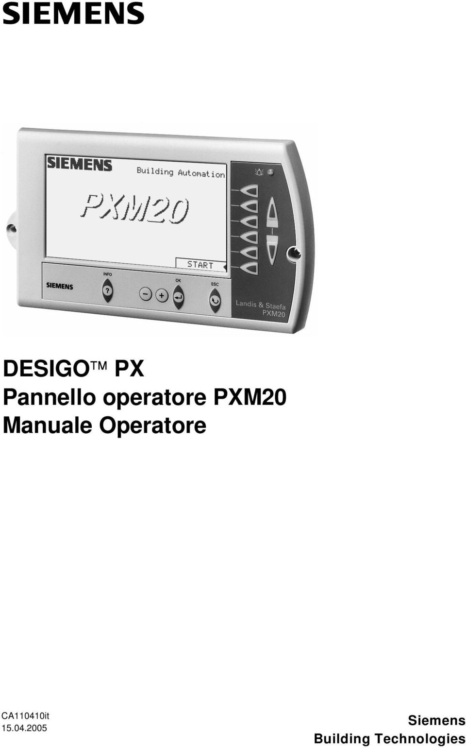 Operatore CA110410it 15.