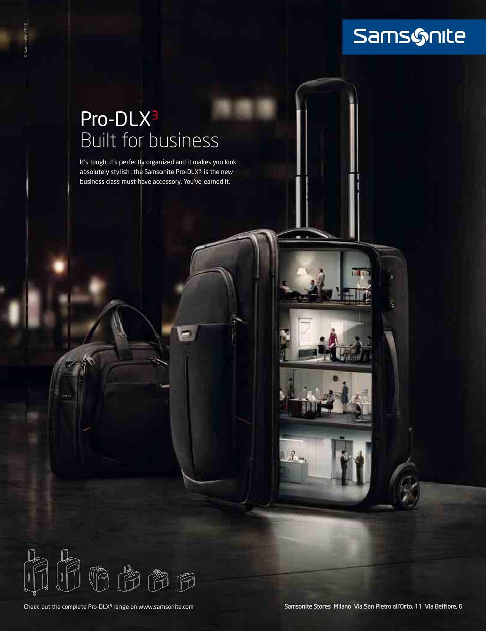 Samsonite Pro-DLX 3 is the new business class must-have accessory.