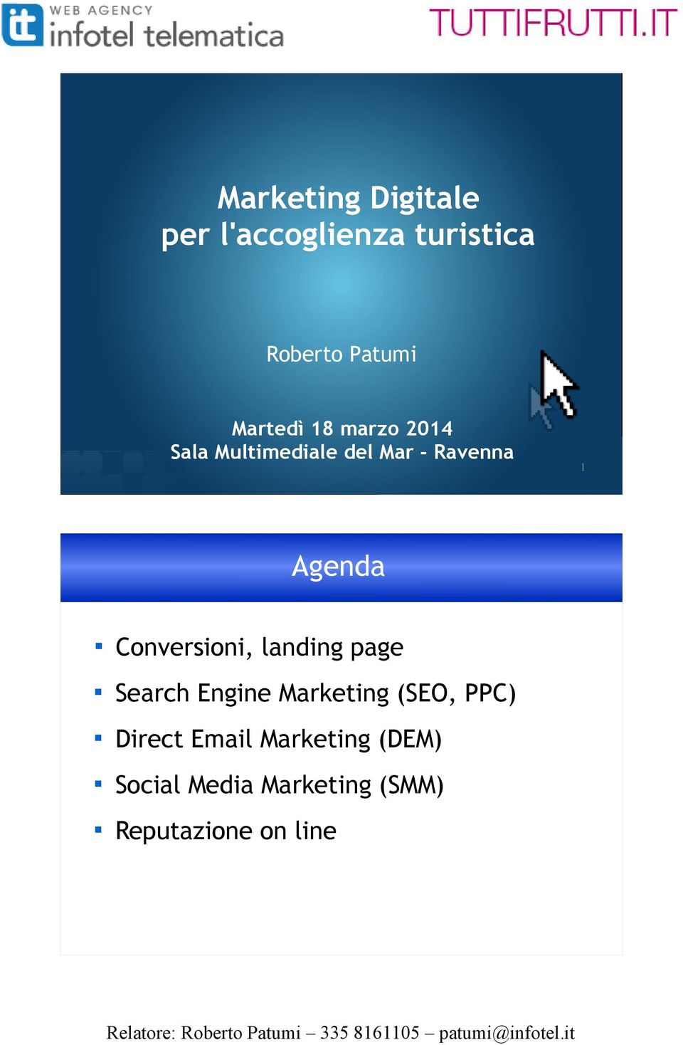 Conversioni, landing page Search Engine Marketing (SEO, PPC)