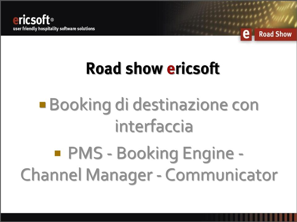 Booking Engine -