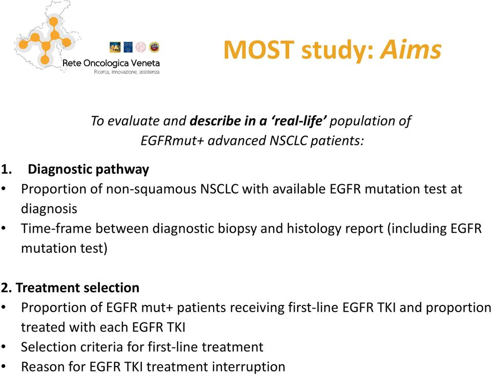 betweendiagnosticbiopsyand histologyreport (includingegfr mutation test) 2.