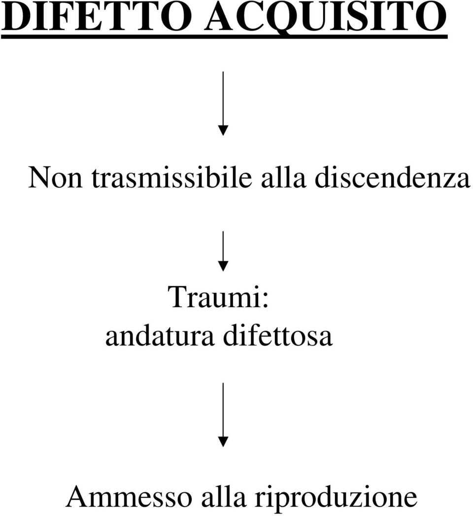 discendenza Traumi: