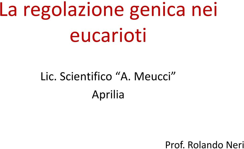 Scientifico A.