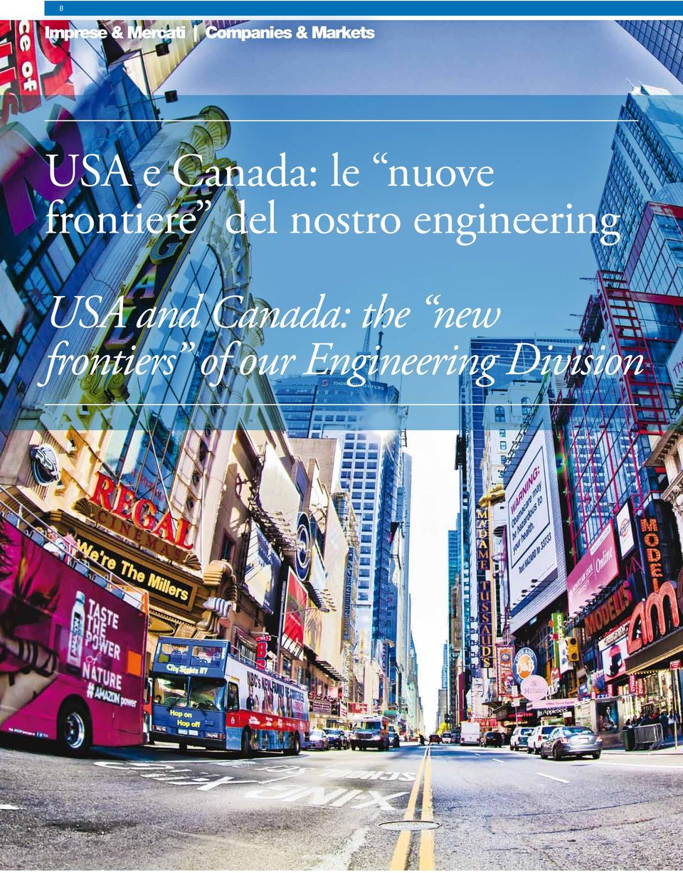 nostro engineering USA and Canada: the