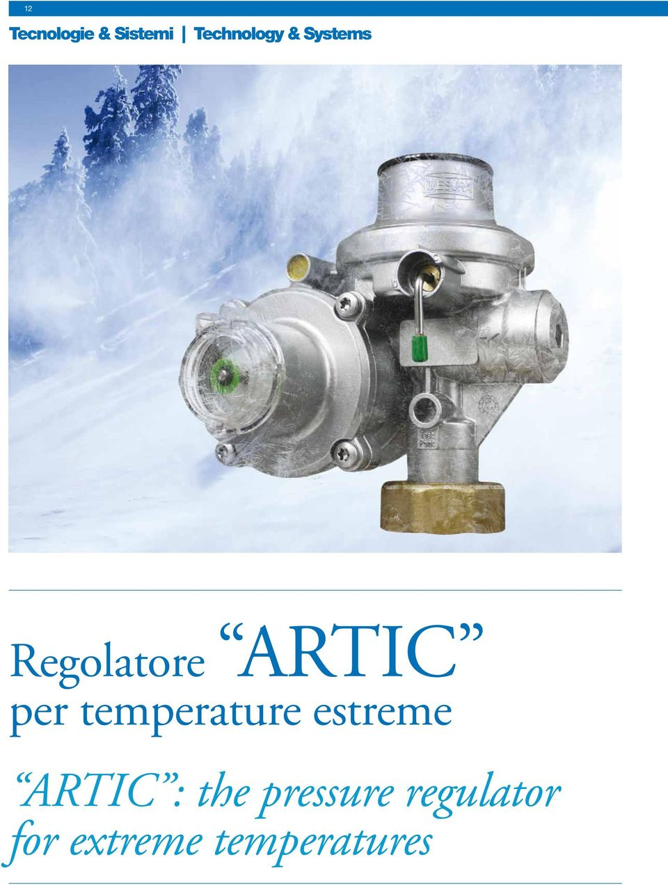 temperature estreme ARTIC : the