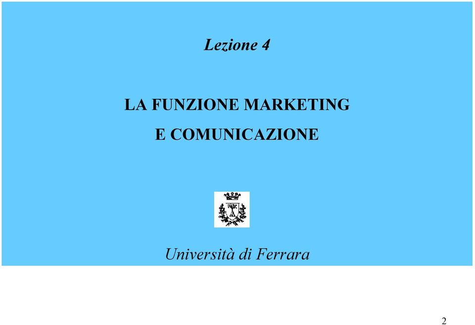 MARKETING E