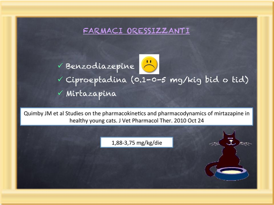 on the pharmacokine8cs and pharmacodynamics of mirtazapine in