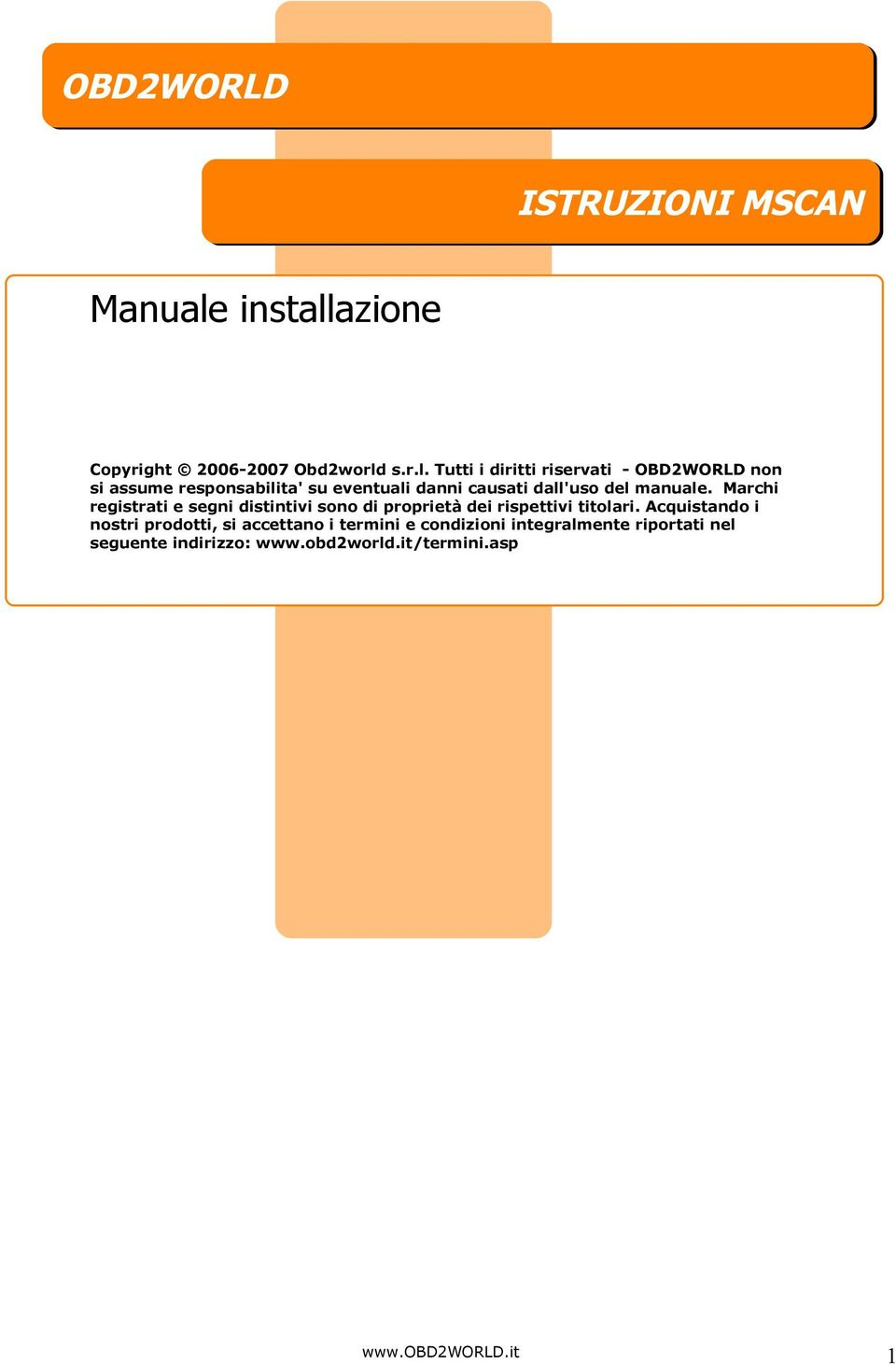 azione Copyright 2006-2007 Obd2world