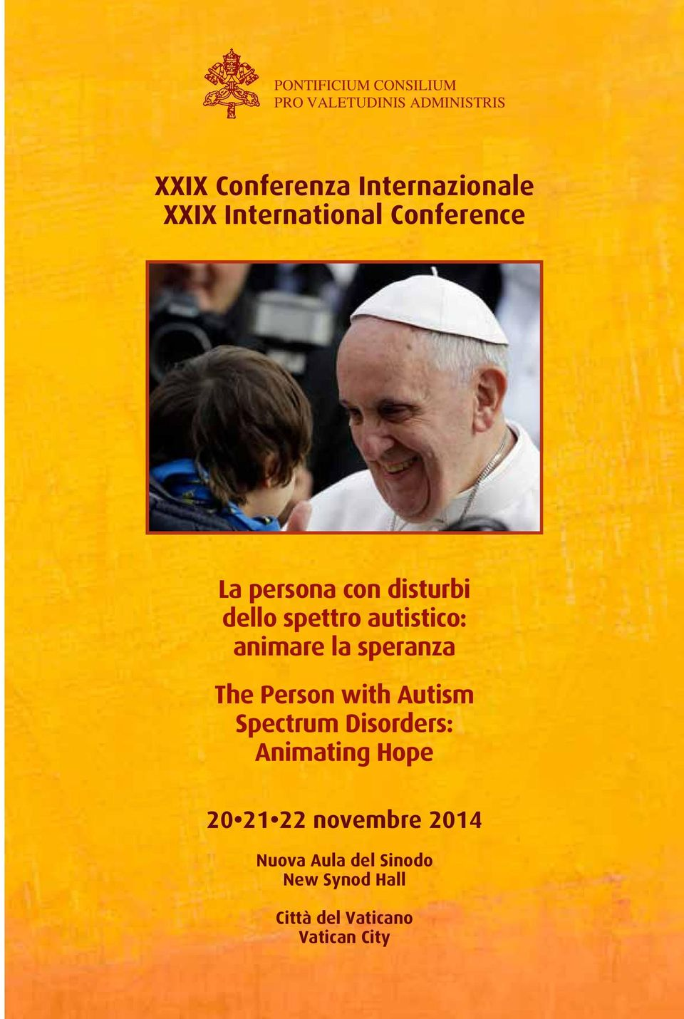 animare la speranza The Person with Autism Spectrum Disorders: Animating Hope 20