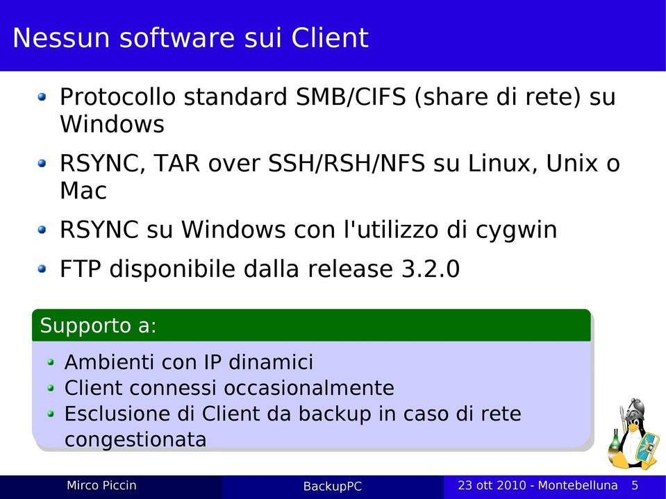 cygwin FTP disponibile dalla release 3.2.
