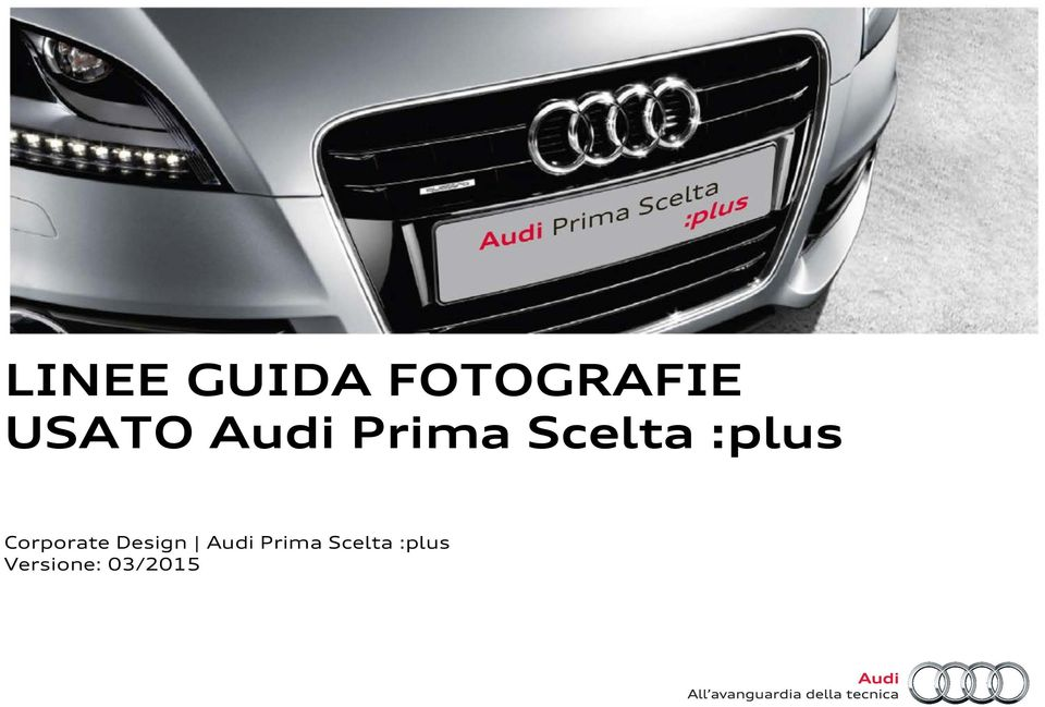 :plus Corporate Design Audi