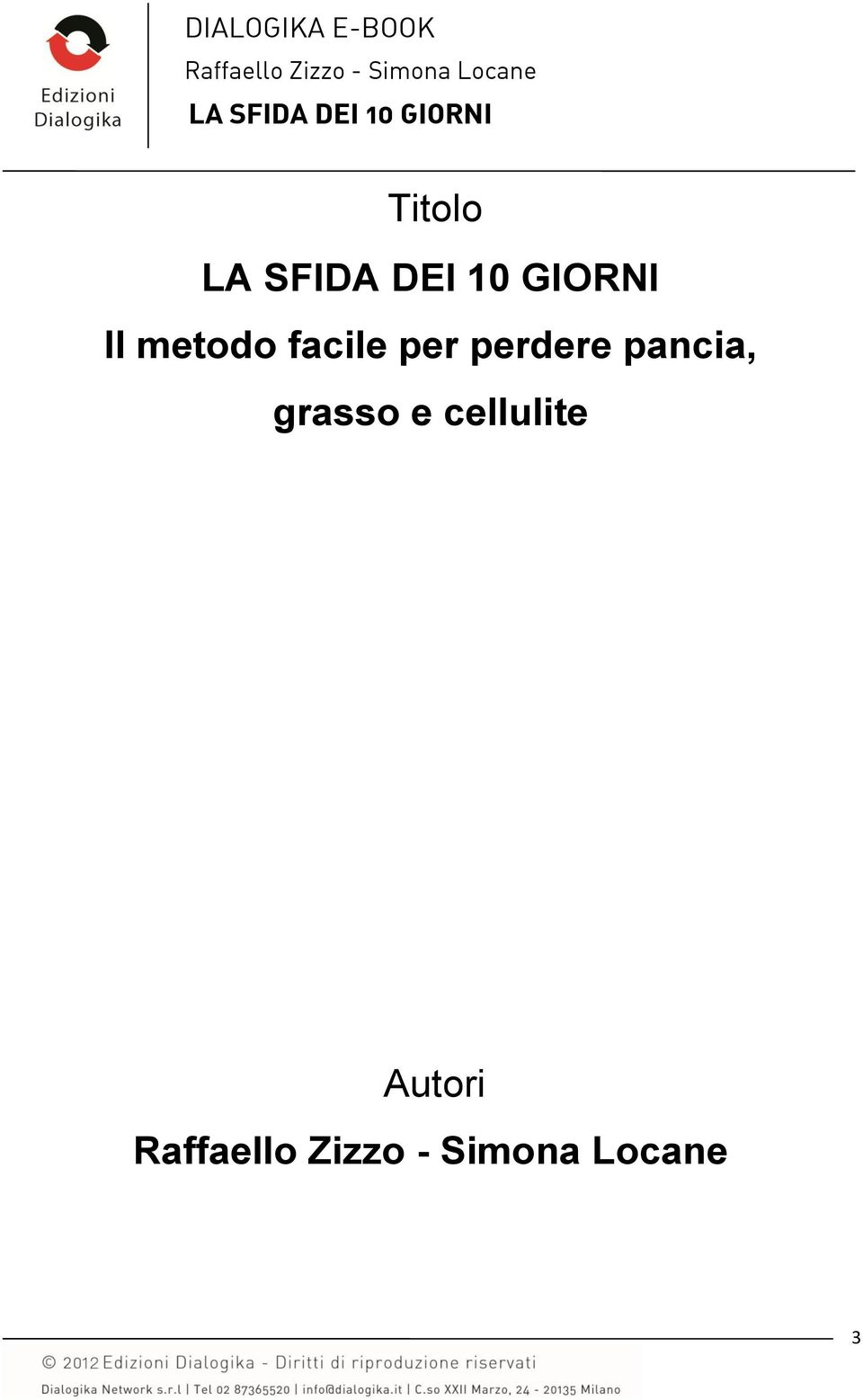 perdere pancia,