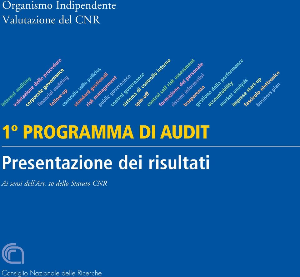 standard gestionali risk management public governance control governance sistema di controllo interno spin-off control self risk assessment