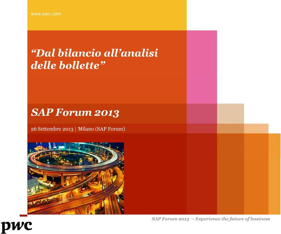 bollette SAP Forum 2013 26 Settembre