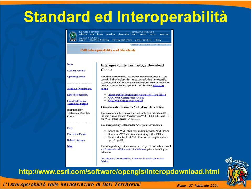 interoperable, accessible, and useful with various applications. Receive support for the downloads at the Interoperability and Standards Discussion Forum.