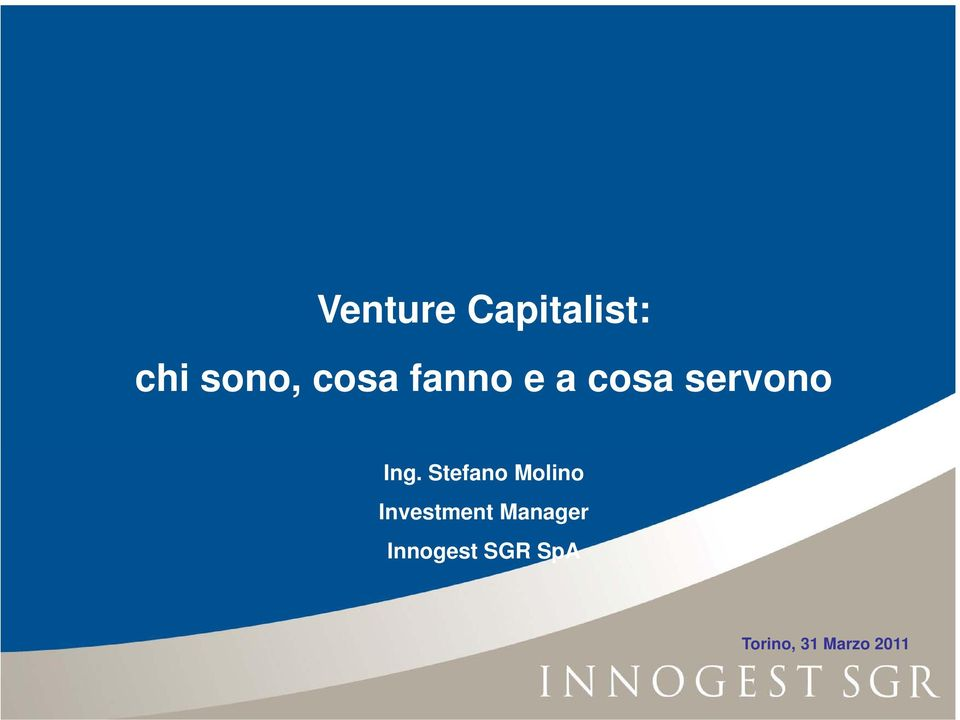 Stefano Molino Investment Manager