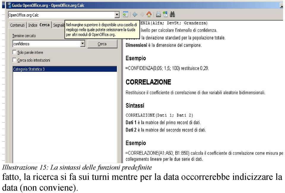 si fa sui turni mentre per la data