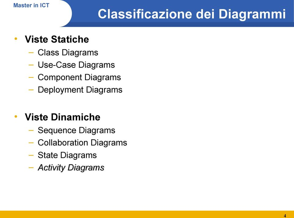 Deployment Diagrams Viste Dinamiche Sequence
